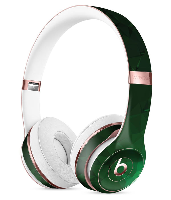Abstract Green Geometric Shapes Full-Body Skin Kit for the Beats by Dre Solo 3 Wireless Headphones