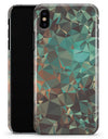 Abstract MultiColor Geometric Shapes Pattern - iPhone X Clipit Case