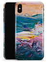 Abstract Oil Strokes - iPhone X Clipit Case