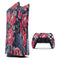 Abstract Roses with Eyes - Full Body Skin Decal Wrap Kit for Sony Playstation 5, Playstation 4, Playstation 3, & Controllers