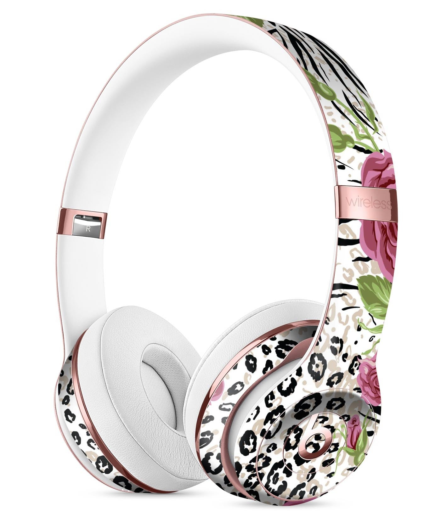 Animal Vibe Floral Full-Body Skin Kit for the Beats by Dre Solo 3 Wireless  Headphones