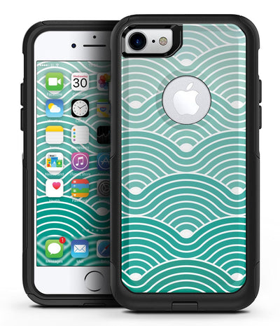 Beach Hotel Wallpaper Waves - iPhone 7 or 8 OtterBox Case & Skin Kits