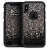 Black Unfocused Sparkle - Skin Kit for the iPhone OtterBox Cases