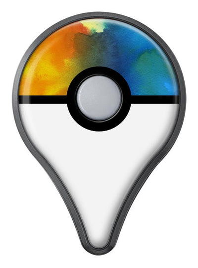 Blotted 64 Absorbed Watercolor Texture Pokémon GO Plus Vinyl Protective Decal Skin Kit