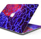 "Blue Red Dragon Vein Agate - Skin Decal Wrap Kit Compatible with the Apple MacBook Pro, Pro with Touch Bar or Air (11"", 12"", 13"", 15"" & 16"" - All Versions Available)"