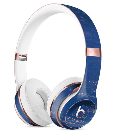 Blue And White Chipped Paint Full Body Skin Kit For The Beats By Dre S Theskindudes