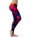 Blurred Abstract Flow V13 - All Over Print Womens Leggings / Yoga or Workout Pants