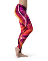 Blurred Abstract Flow V15 - All Over Print Womens Leggings / Yoga or Workout Pants