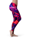 Blurred Abstract Flow V20 - All Over Print Womens Leggings / Yoga or Workout Pants