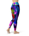 Blurred Abstract Flow V39 - All Over Print Womens Leggings / Yoga or Workout Pants
