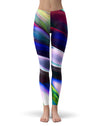 Blurred Abstract Flow V42 - All Over Print Womens Leggings / Yoga or Workout Pants