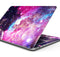"Bright Trippy Space - Skin Decal Wrap Kit Compatible with the Apple MacBook Pro, Pro with Touch Bar or Air (11"", 12"", 13"", 15"" & 16"" - All Versions Available)"