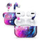 Bright Trippy Space - Full Body Skin Decal Wrap Kit for the Wireless Bluetooth Apple Airpods Pro, AirPods Gen 1 or Gen 2 with Wireless Charging