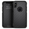 Carbon Fiber Texture - Skin Kit for the iPhone OtterBox Cases