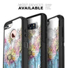 Colorful WaterColor Floral - Skin Kit for the iPhone OtterBox Cases