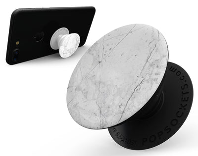 Cracked Marble Surface - Skin Kit for PopSockets and other Smartphone Extendable Grips & Stands
