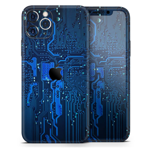 Electric Circuit Board - Skin-Kit for the Apple iPhone 11, 11 Pro or 11 Pro Max