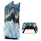 Foiled Marble Agate - Full Body Skin Decal Wrap Kit for Sony Playstation 5, Playstation 4, Playstation 3, & Controllers