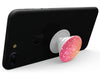 Glowing Pink and Gold Orbs of Light - Skin Kit for PopSockets and other Smartphone Extendable Grips & Stands