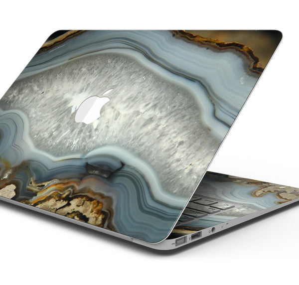 "Gold Crystal - Skin Decal Wrap Kit Compatible with the Apple MacBook Pro, Pro with Touch Bar or Air (11"", 12"", 13"", 15"" & 16"" - All Versions Available)"