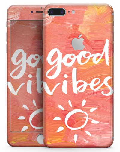 Good Vibes - Skin-kit for the iPhone 8 or 8 Plus