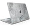 "Gray Slate Marble - Skin Decal Wrap Kit Compatible with the Apple MacBook Pro, Pro with Touch Bar or Air (11"", 12"", 13"", 15"" & 16"" - All Versions Available)"