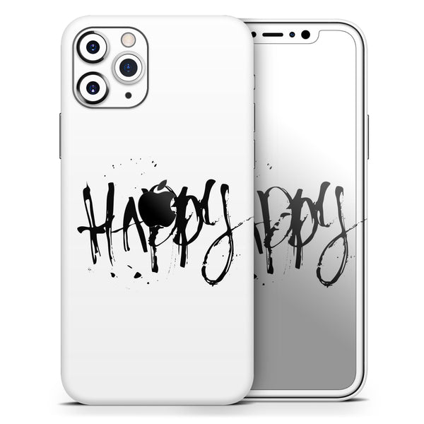Happy Splatter - Skin-Kit compatible with the Apple iPhone 12, 12 Pro Max, 12 Mini, 11 Pro or 11 Pro Max (All iPhones Available)