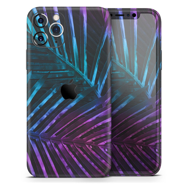 Holographic Tropical - Skin-Kit for the Apple iPhone 11, 11 Pro or 11 Pro Max