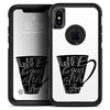 Life Begins After Coffee - Skin Kit for the iPhone OtterBox Cases
