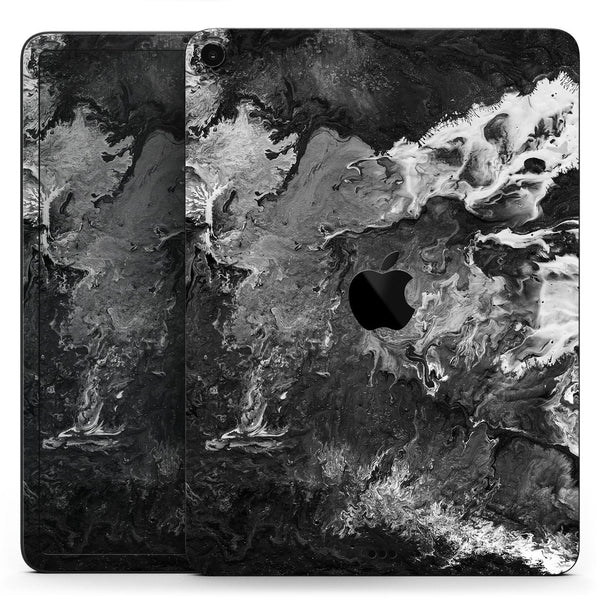 "Liquid Abstract Paint V56 - Full Body Skin Decal for the Apple iPad Pro 12.9"", 11"", 10.5"", 9.7"", Air or Mini (All Models Available)"