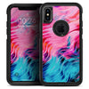 Liquid Abstract Paint V66 - Skin Kit for the iPhone OtterBox Cases
