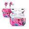 Liquid Abstract Paint V67 - Full Body Skin Decal Wrap Kit for the Wireless Bluetooth Apple Airpods Pro, AirPods Gen 1 or Gen 2 with Wireless Charging