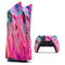 Liquid Abstract Paint V67 - Full Body Skin Decal Wrap Kit for Sony Playstation 5, Playstation 4, Playstation 3, & Controllers