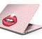 "Lovely Lips - Skin Decal Wrap Kit Compatible with the Apple MacBook Pro, Pro with Touch Bar or Air (11"", 12"", 13"", 15"" & 16"" - All Versions Available)"