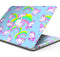 "Magical Cartoon Unicorns - Skin Decal Wrap Kit Compatible with the Apple MacBook Pro, Pro with Touch Bar or Air (11"", 12"", 13"", 15"" & 16"" - All Versions Available)"