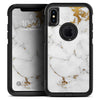 Marble & Digital Gold Foil V6 - Skin Kit for the iPhone OtterBox Cases