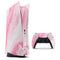 Marbleized Pink Paradise V6 - Full Body Skin Decal Wrap Kit for Sony Playstation 5, Playstation 4, Playstation 3, & Controllers