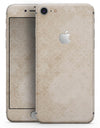 Micro Faded Tan Damask Pattern - Skin-kit for the iPhone 8 or 8 Plus