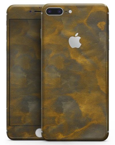 Micro Golden Carnation Petals - Skin-kit for the iPhone 8 or 8 Plus