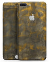 Micro Golden Catipillar Fur V1 - Skin-kit for the iPhone 8 or 8 Plus