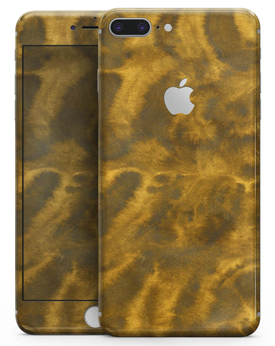 Micro Golden Catipillar Fur V2 - Skin-kit for the iPhone 8 or 8 Plus