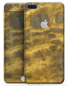 Micro Golden Caverns V1 - Skin-kit for the iPhone 8 or 8 Plus