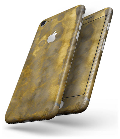 Micro Golden Caverns V2 - Skin-kit for the iPhone 8 or 8 Plus