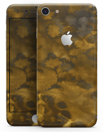 Micro Golden Fibers V1 - Skin-kit for the iPhone 8 or 8 Plus