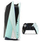 Minimalistic Mint and Gold Striped V1 - Full Body Skin Decal Wrap Kit for Sony Playstation 5, Playstation 4, Playstation 3, & Controllers