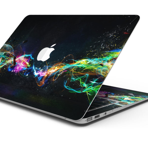"Neon Motion Lights - Skin Decal Wrap Kit Compatible with the Apple MacBook Pro, Pro with Touch Bar or Air (11"", 12"", 13"", 15"" & 16"" - All Versions Available)"