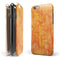 Orange Tribal Arrow Pattern iPhone 6/6s or 6/6s Plus 2-Piece Hybrid INK-Fuzed Case