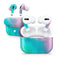 Pastel Marble Surface - Full Body Skin Decal Wrap Kit for the Wireless Bluetooth Apple Airpods Pro, AirPods Gen 1 or Gen 2 with Wireless Charging