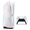 Pretty Pastel Clouds V7 - Full Body Skin Decal Wrap Kit for Sony Playstation 5, Playstation 4, Playstation 3, & Controllers