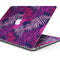 "Purple Tropical - Skin Decal Wrap Kit Compatible with the Apple MacBook Pro, Pro with Touch Bar or Air (11"", 12"", 13"", 15"" & 16"" - All Versions Available)"
